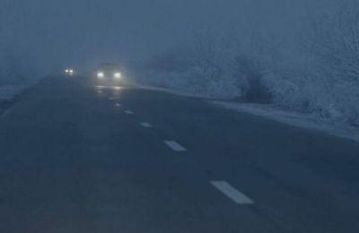 Πυκνή ομίχλη και χιονόπτωση στην περιοχή Τροόδους