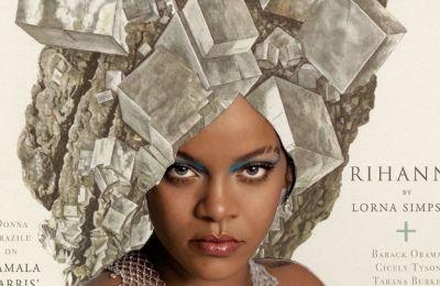 Η Ζόρα Σίμπσον Κέισμπιρ, η οποία υπογράφει το κείμενο «Anthems of Possibility» που συνοδεύει τις φωτογραφίες, αποκάλυψε πώς η Rihanna βοήθησε στη διαμόρφωση της γυναικείας φύσης της
