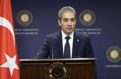 Ο εκπρόσωπος του Υπουργείου Εξωτερικών της Τουρκίας Χαμί Aκσόι ανέφερε ότι τα χωρικά ύδατα αυτής της θάλασσας δεν πρέπει να επεκταθούν μονομερώς, με τρόπο που θα περιορίζουν την ελεύθερη ναυσιπλοϊα