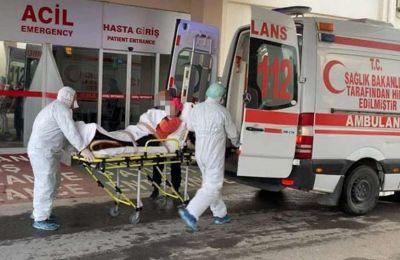 Ένας ακόμη ασθενής μεταφέρθηκε για νοσηλεία στη ΜΕΘ, με τον συνολικό αριθμό όσων νοσηλεύονται στην εντατική να ανεβαίνει στους 4.