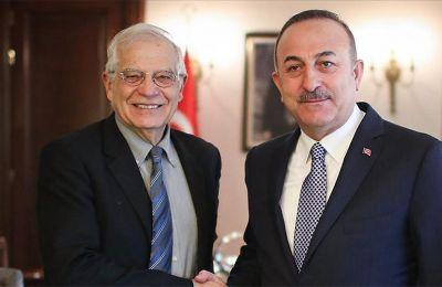 Ο Τούρκος ΥΠΕΞ αύριο, Παρασκευή, θα γίνει δεκτός από τον πρόεδρο του Ευρωπαϊκού Συμβουλίου, Σαρλ Μισέλ, και τον Γενικό Γραμματέα του ΝΑΤΟ Γενς Στόλτενμπεργκ.