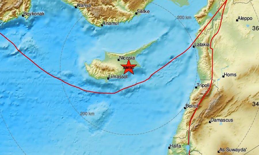Ταρακουνήθηκε η Κύπρος
