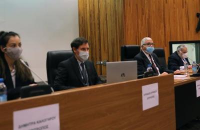 Ο Οικονομικός Διευθυντής στο Υπουργείο Οικονομικών, Κυριάκος Κακουρής κατέθεσε σήμερα ενώπιον της Ερευνητικής Επιτροπής των Κατ' Εξαίρεση Πολιτογραφήσεων Αλλοδαπών Επενδυτών και Επιχειρηματιών