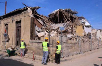 Φωτογραφίες από τα διατηρητέα κτήρια που κατεδάφισε χωρίς άδεια η Αρχιεπισκοπή - Φίλιππος Χρήστου