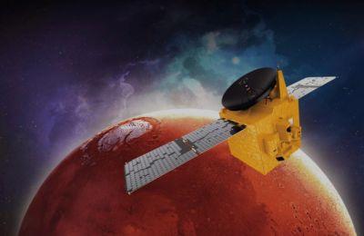 Η εντυπωσιακή 1η φωτογραφία του διαστημικού σκάφους Hope από τον πλανήτη Άρη