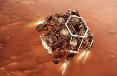 Ιστορική η προσεδάφιση του Perseverance στον Άρη