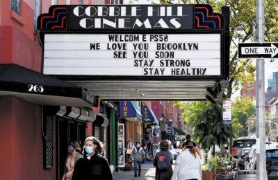 Με ανακούφιση υποδέχθηκε τα καλά νέα η κινηματογραφική βιομηχανία στη Νέα Υόρκη