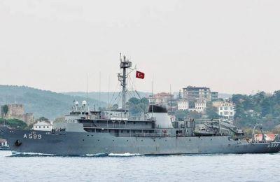 Η ελληνική πλευρά επισημαίνει ότι το πλησιέστερο ίχνος μαχητικού αεροσκάφους από το τουρκικό πλοίο «Τσεσμέ» απείχε 10 ναυτικά μίλια.