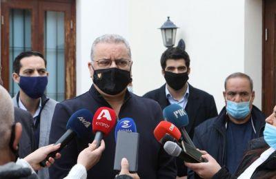 Ο Υπουργός Εσωτερικών, Νίκος Νουρής.