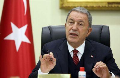 Ο Τούρκος υπουργός Άμυνας κατηγόρησε την Αθήνα για άλλη μια φορά.