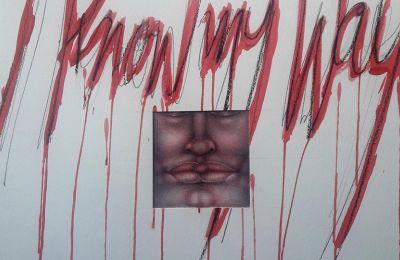 Έργο από την έκθεση του καλλιτέχνη Σταύρου Αντωνόπουλου