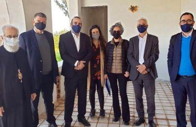 Συνάντηση Γ. Καρούσοου με τον Δήμαρχο Παραλιμνίου και τον Μητροπολίτη Κωνσταντίας – Αμμοχώστου.