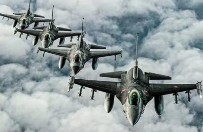 Τουρκικά μαχητικά F-16 πέταξαν χθες το μεσημέρι πάνω από το Αγαθονήσι, την Παναγιά και τις Οινούσσες.