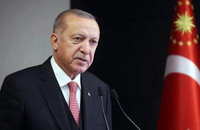 Υποβασταζόμενος σε δημόσια εμφάνιση ο Ερντογάν