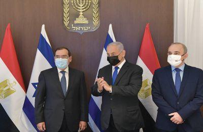 Η σπάνια επίσκεψη του υπουργού Ενέργειας της Αιγύπτου στο Ισραήλ σηματοδότησε και την ιστορική συμφωνία σύνδεσης του «Λεβιάθαν» με τα αιγυπτιακά τερματικά υγροποίησης.