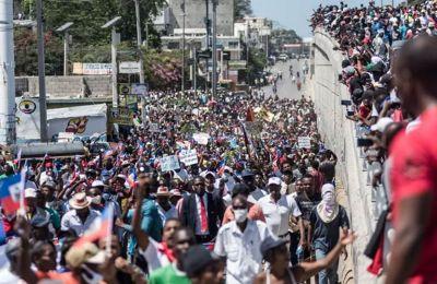 Αϊτή: Χιλιάδες πολίτες διαδήλωσαν εναντίον της ανασφάλειας
