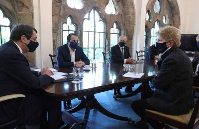 Σύμφωνα με τον κ. Παπαδόπουλο, ο Πρόεδρος Αναστασιάδης θα έχει την Πέμπτη τηλεδιάσκεψη με την Άγκελα Μέρκελ.