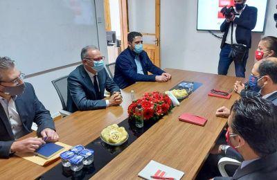Το Κυπριακό στο επίκεντρο συζήτησης Αβέρωφ -  Ερχιουρμάν - Οζερσάι