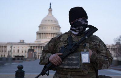 Οι Αρχές της αμερικανικής πρωτεύουσας τέθηκαν σε επιφυλακή ύστερα από πληροφορίες ότι ακραίες παραστρατιωτικές οργανώσεις σκέφτονταν να επιχειρήσουν νέα έφοδο.