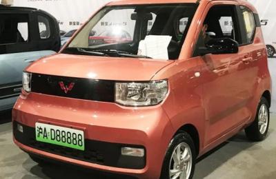 Tο Wuling Hong Guang Mini EV έχει σχεδιαστεί για να χρησιμοποιείται στις πόλεις.