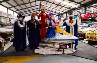 Λεμεσός: Μήνυμα αισιοδοξίας έστειλε η βασιλική οικογένεια του Καρναβαλιού