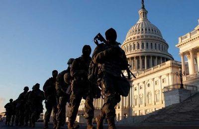 Εξετάζεται η παραμονή της Εθνοφρουράς στο Καπιτώλιο για δύο μήνες