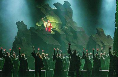 Σκηνή από την όπερα «Δέσπω» του Παύλου Καρρέρ. Στις 24, 25 Μαρτίου. Αίθουσα «Σταύρος Νιάρχος» Εθνικής Λυρικής Σκηνής - ΚΠΙΣΝ.Φωτ. Α. SIMOPOULOS