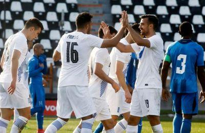 Η Εθνική Ελλάδας έδειξε ότι μπορεί να παίξει και επιθετικά
