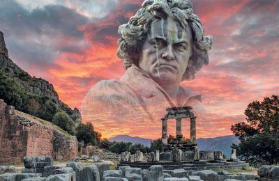 Η επιβλητική, διονυσιακή μα και δραματική Εβδόμη Συμφωνία του Μπετόβεν, με σκηνικό το ιερό των Δελφών, αναμένεται να είναι μια σπάνια μουσική εμπειρία