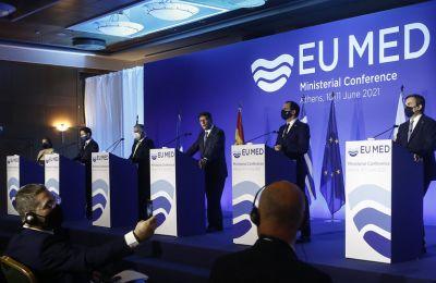 ΥΠΕΞ MED 7: Σοβαρή ανησυχία για τις παραβιάσεις της Τουρκίας στα Βαρώσια