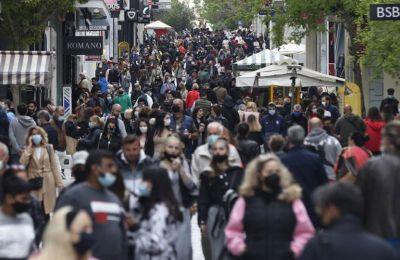 Eλλάδα: 591 νέα κρούσματα, 21 θάνατοι