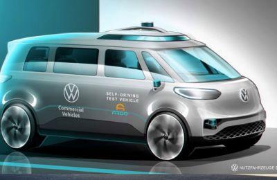 Η Volkswagen Commercial Vehicles συνεχίζει την εξέλιξη της αυτόνομης οδήγησης
