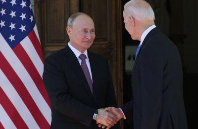 Μπάιντεν - Πούτιν: Δύσκολο τετ α τετ στη Γενεύη