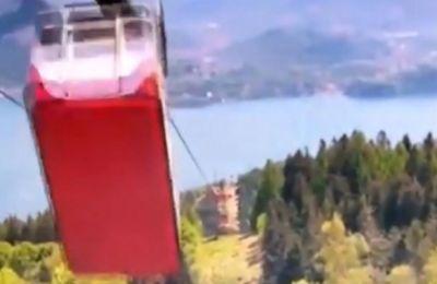 Ιταλία – τελεφερίκ: Βίντεο ντοκουμέντο από τη στιγμή του δυστυχήματος