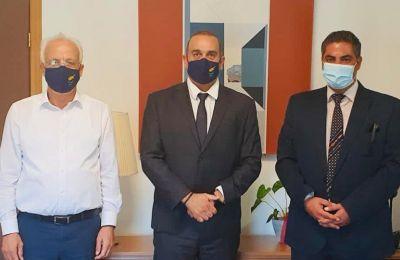 Τις προοπτικές και τις προτεραιότητες της ΑΛΚ συζήτησαν Καρούσος - Στυλιανού