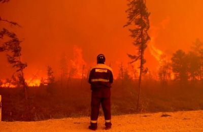 Το πιο παγωμένο μέρος στον πλανήτη τυλίχθηκε στις φλόγες