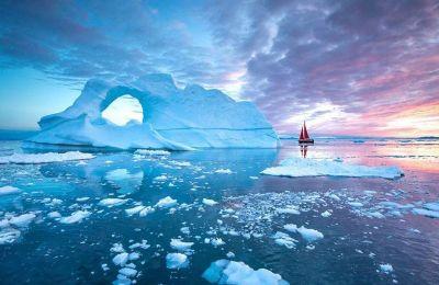 Για πρώτη φορά: Βροχή αντί για χιόνι στον παγωμένο φλοιό της Γροιλανδίας