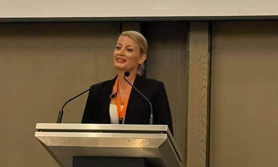 κ. Πάολα Χατζηλαμπρή, Διευθύντρια Επιχειρησιακής Ανάπτυξης στην Michael Kyprianou & Co LLC