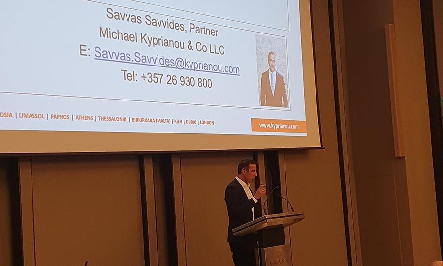 κ. Σάββας Σαββίδης, Δικηγόρος και Συνέταιρος, της Michael Kyprianou & Co LLC