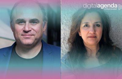 Θεώνη Ξάνθη και Χρήστος Πασιάς παρουσιάζουν και συζητούν το νέο μητροπολιτικό κέντρο της Λευκωσίας στο Digital Agenda Cyprus Summit