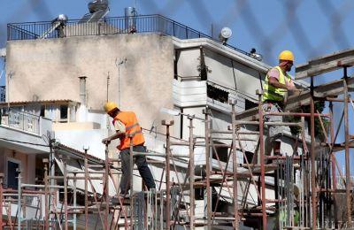 Αύξηση 10,8% στις άδειες οικοδομής τον Ιούλιο