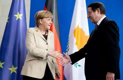Μέρκελ: Στήριξη Γερμανίας στις προσπάθειες του Προέδρου για λύση του Κυπριακού