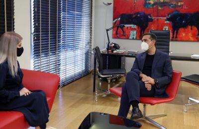 Το Κυπριακό στο επίκεντρο της συνάντησης Α. Δημητρίου με Α. Τσίπρα