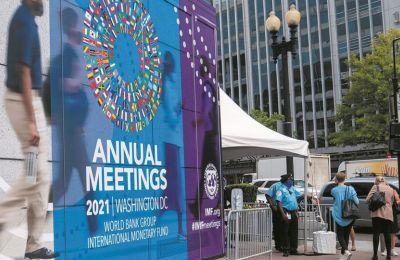 Αποκλιμάκωση πληθωριστικών πιέσεων το 2022 βλέπει το ΔΝΤ