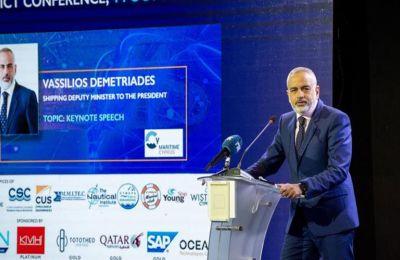 Υφ. Ναυτιλίας: Έτοιμοι να στηρίξουμε την ανάπτυξη της ψηφιακής τεχνολογίας στη ναυτιλία