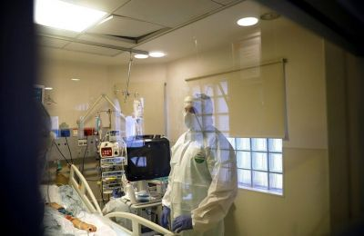 Υποκείμενη αιτία ο COVID για 559 από τους 644 θανάτους ασθενών