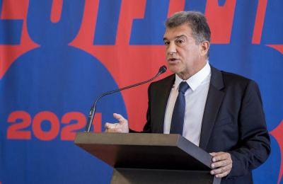 Λαπόρτα: «H European Super League είναι ακόμη ζωντανή»