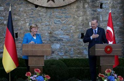 Η αναφορά της Μέρκελ στην Κύπρο στη συνάντηση με τον Ερντογάν