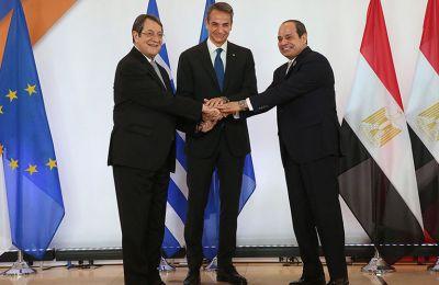 Το κείμενο της διακήρυξης Ελλάδας-Αιγύπτου-Κύπρου