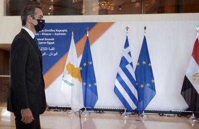 Κ. Μητσοτάκης: Ελλάδα, Κύπρος και Αίγυπτος ταυτίζονται στην καταδίκη των τουρκικών προκλήσεων